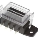 Blade Fuse-Box with Cover (4 way)