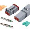 Deutsch- 2 way Complete Plug Kit