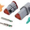Deutsch- 3 way Complete Plug Kit