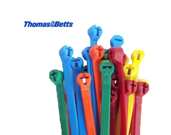 Thomas & Betts Coloured Nylon Ties