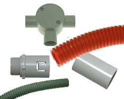 Corrugated Conduits & Fittings