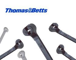 Thomas & Betts Nylon Steel-Tongue Ties